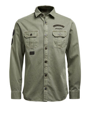 PATCH LONG SLEEVED SHIRT