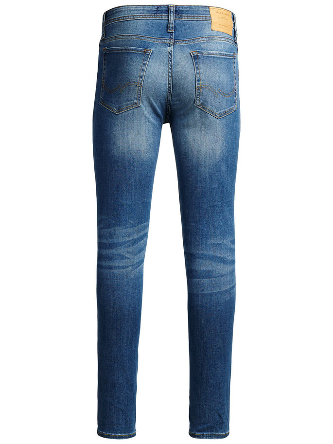 LIAM ORIGINAL AM 015 SKINNY FIT JEANS, Blue Denim, large