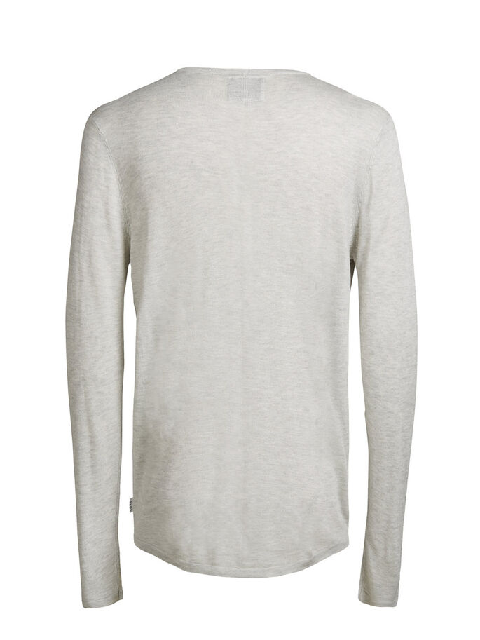LIGHT PULLOVER, Treated White, large