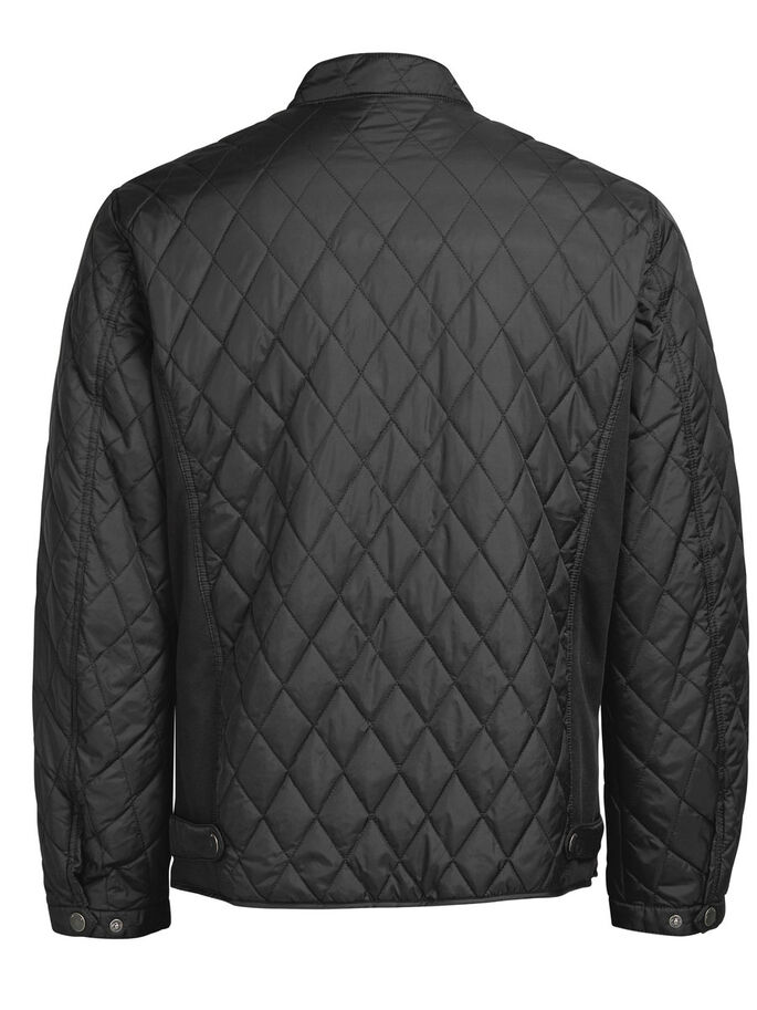 QUILTAD JACKA, Black, large