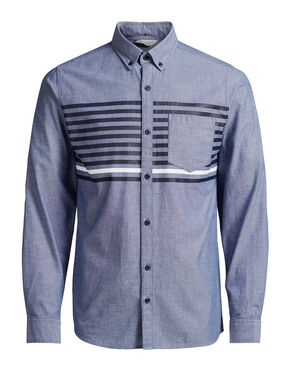 STRIPED LONG SLEEVED SHIRT