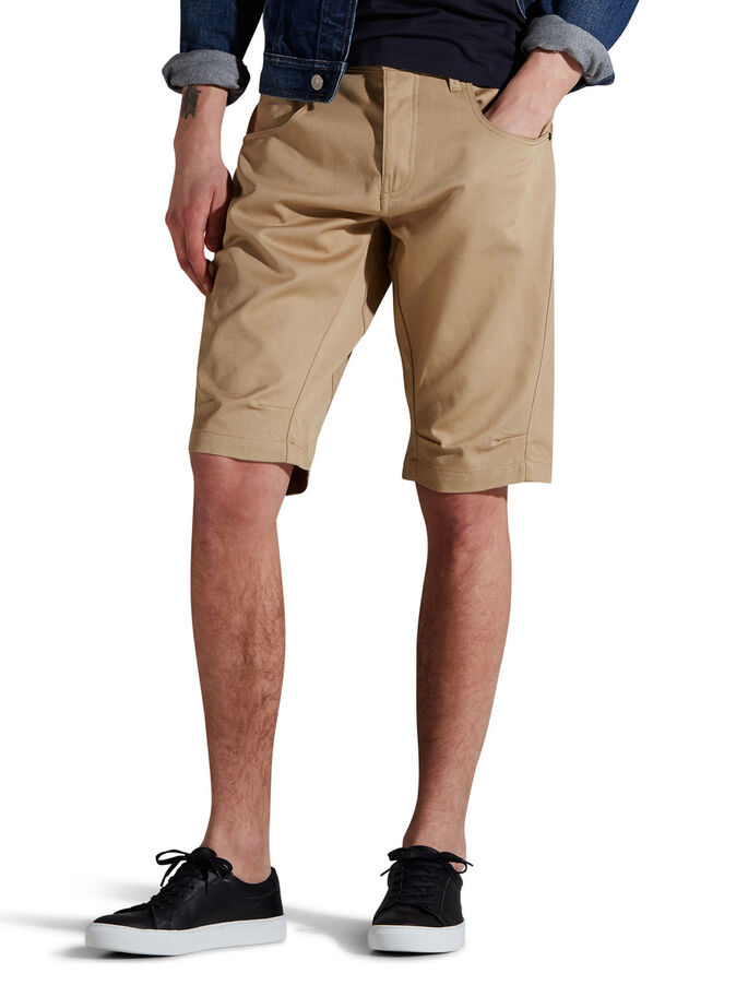 LESTER LONG SHORT CHINO, Cornstalk, large
