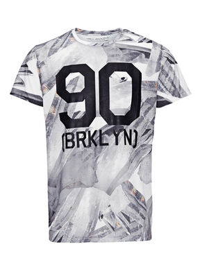 ALL-OVER-PRINTET T-SHIRT