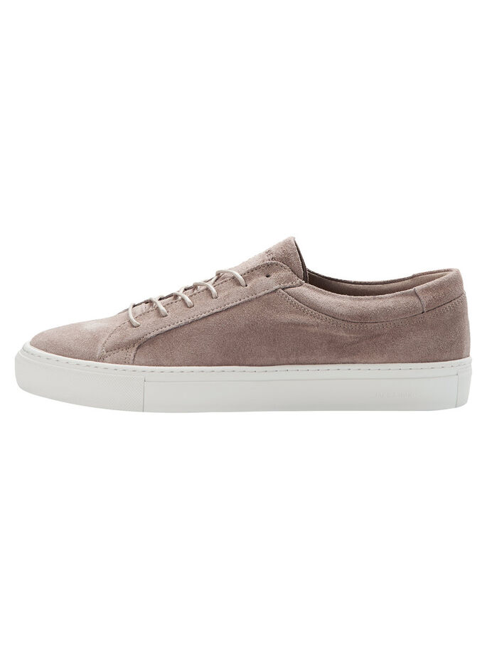 WILDLEDER- SCHUHE, Toasted Coconut, large