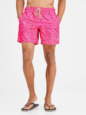 GRAPHIC PRINT SWIMSHORTS