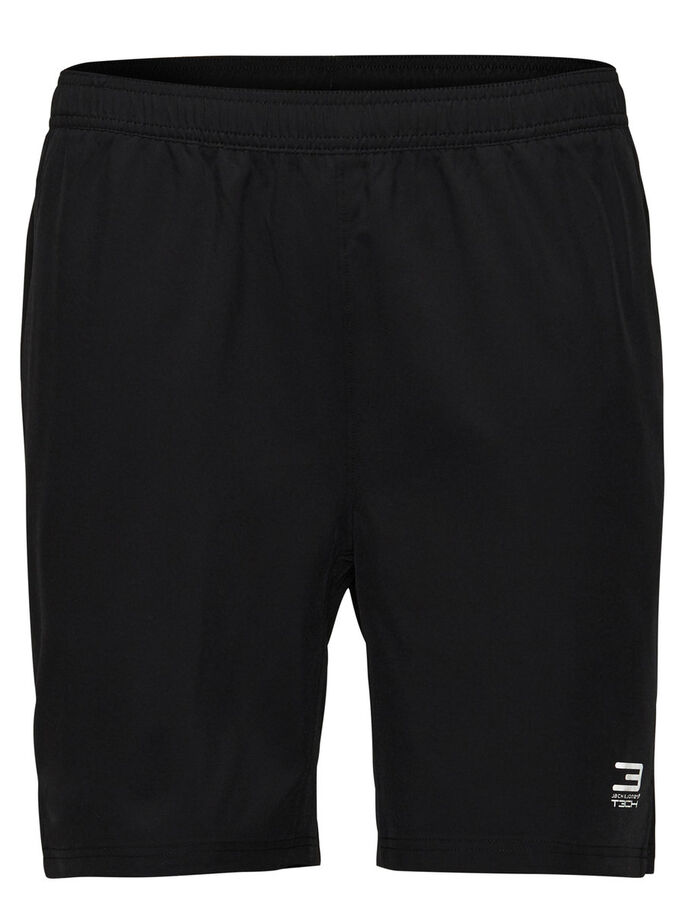 TRAININGS SHORTS, Black, large