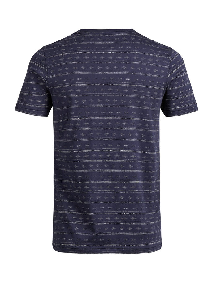 PRINT T-SHIRT, Mood Indigo, large