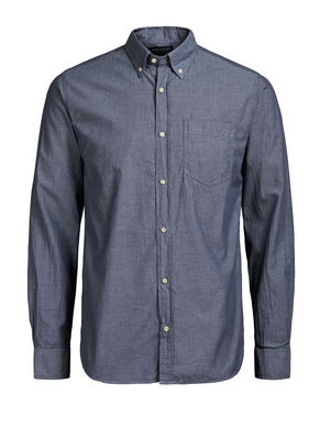 BOTTON-DOWN LONG SLEEVED SHIRT