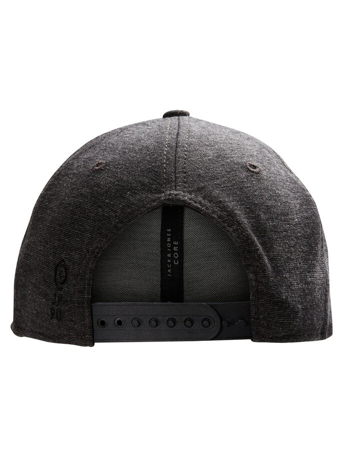 BASEBALL- CAP, Dark Grey, large