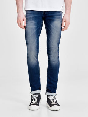 GLENN DASH GE 103 INDIGO KNIT SLIM FIT JEANS