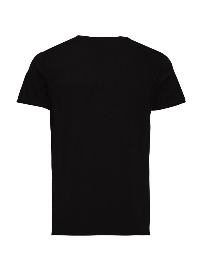 GRAPHIC T-SHIRT, Black, large