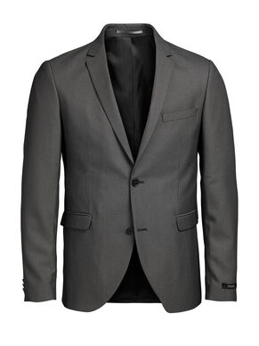 SLIM FIT GREY BLAZER