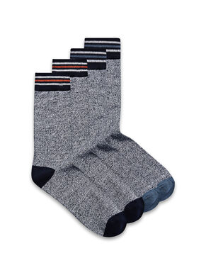 STRIPED 4 PACK SOCKS