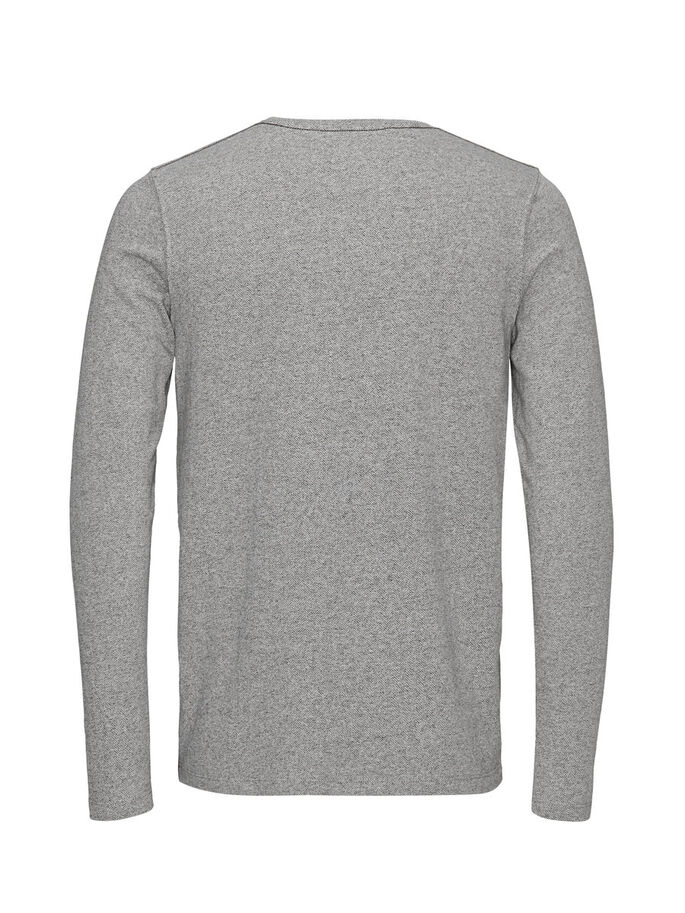 MÉLANGE SWEATSHIRT, Light Grey Melange, large
