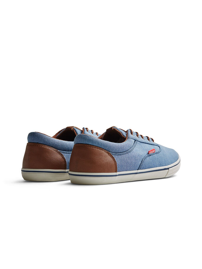 LEINEN- SNEAKER, Chambray Blue, large