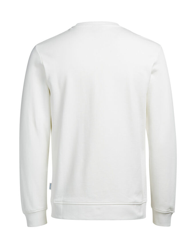 WEIHNACHTS- SWEATSHIRT, Cloud Dancer, large