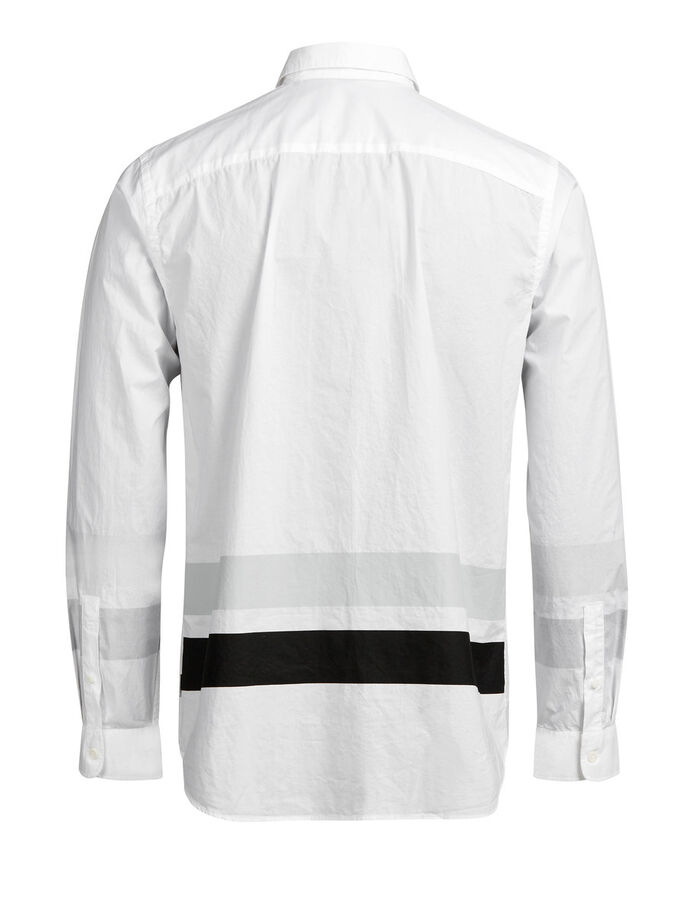 URBAN CASUAL SHIRT, White, large