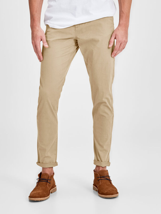 KLASSIEK CHINO, Kelp, large