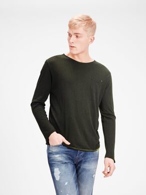 MELANGE LONG-SLEEVED T-SHIRT