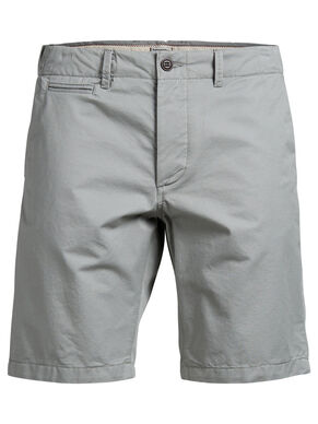 GRAHAM SH. MID AKM 202 MOON MIST CHINO SHORTS