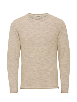 RUGGED MELANGE SWEATSHIRT