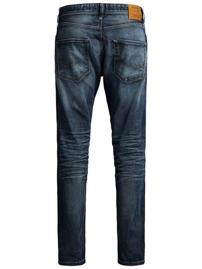ERIK ORIGINAL JOS 833 ANTI-FIT JEANS, Blue Denim, large