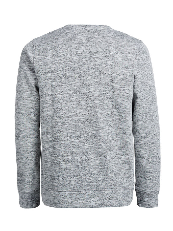 CASUAL SWEATSHIRT, Light Grey Melange, large