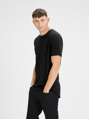 PLAIN REGULAR FIT T-SHIRT