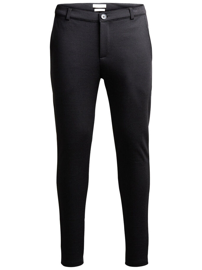 TAILORED SWEAT PANTS, Black, large