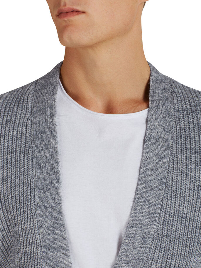 VEELZIJDIG VEST, Light Grey Melange, large