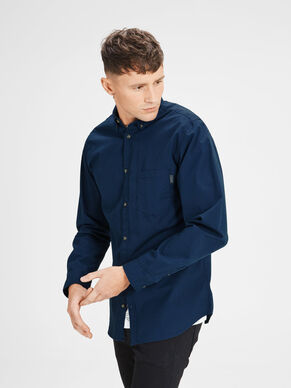 CASUAL SLIM FIT LONG SLEEVED SHIRT