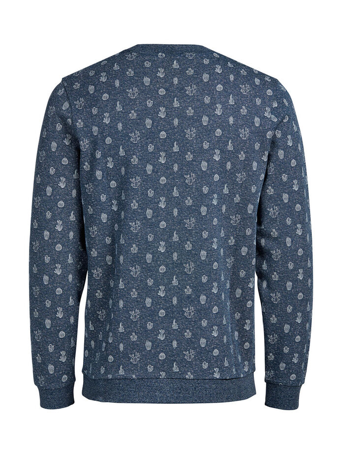 IMPRIMÉ CACTUS SWEAT-SHIRT, Poseidon, large