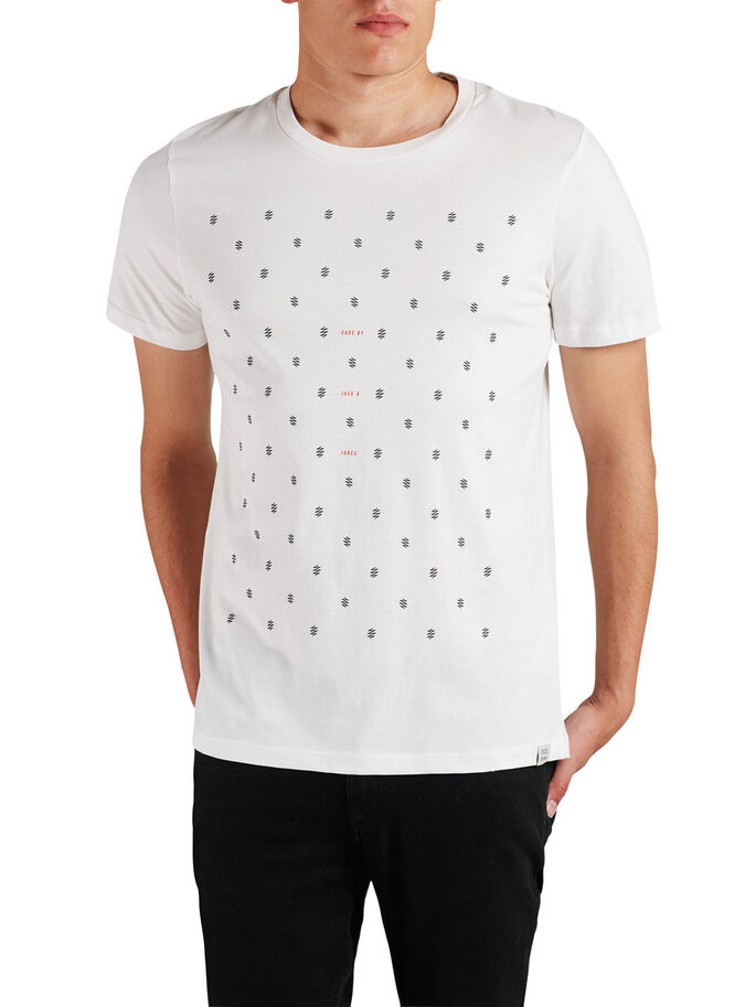 GRAPHIC T-SHIRT, Blanc de Blanc, large
