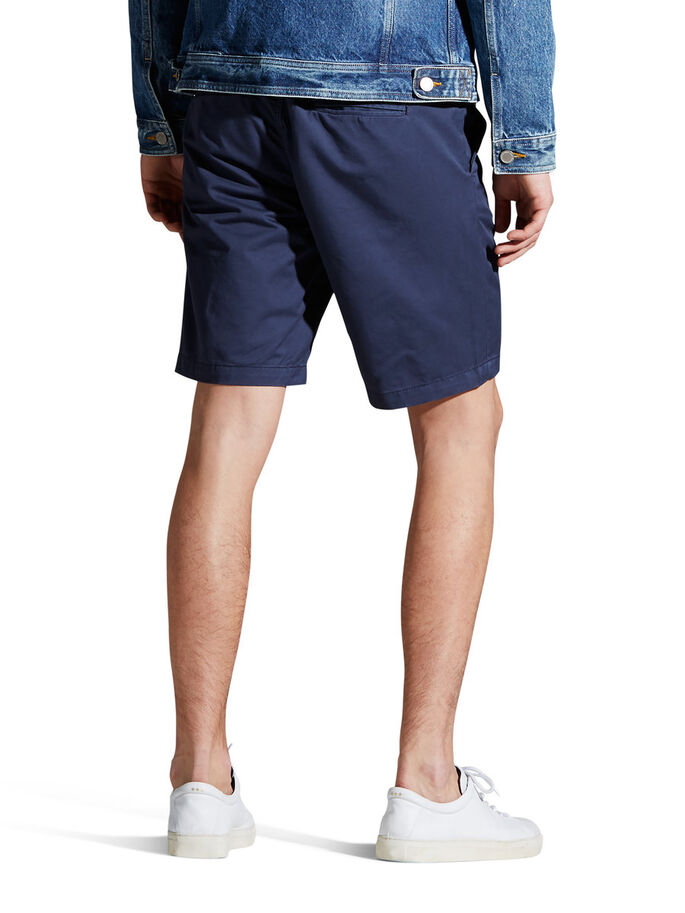 GRAHAM AKM 202 CHINO SHORT, Mood Indigo, large