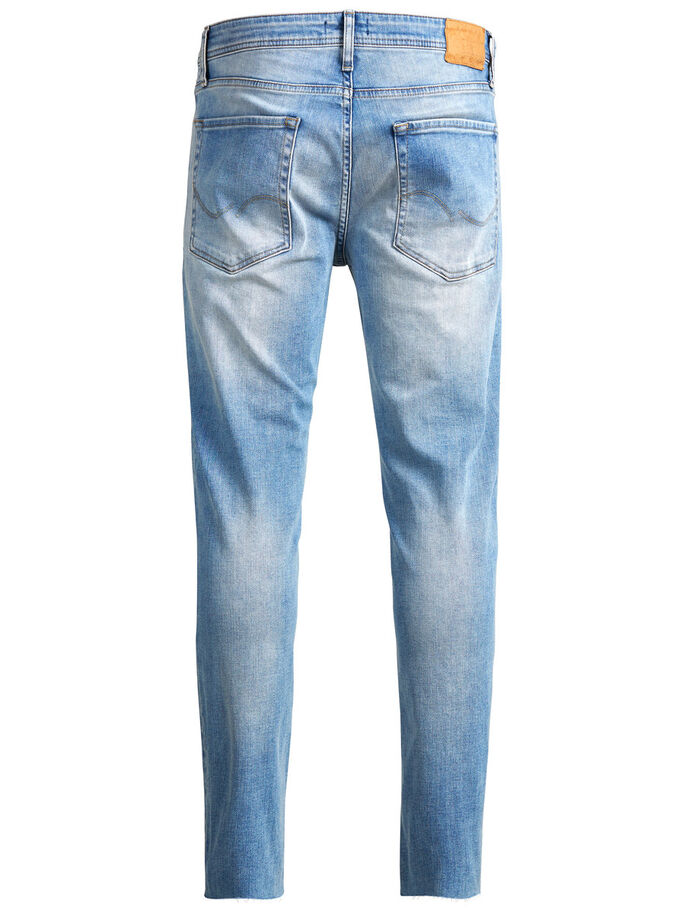 BEN ORIGINAL CROPPED JOS 096 SKINNY FIT JEANS, Blue Denim, large