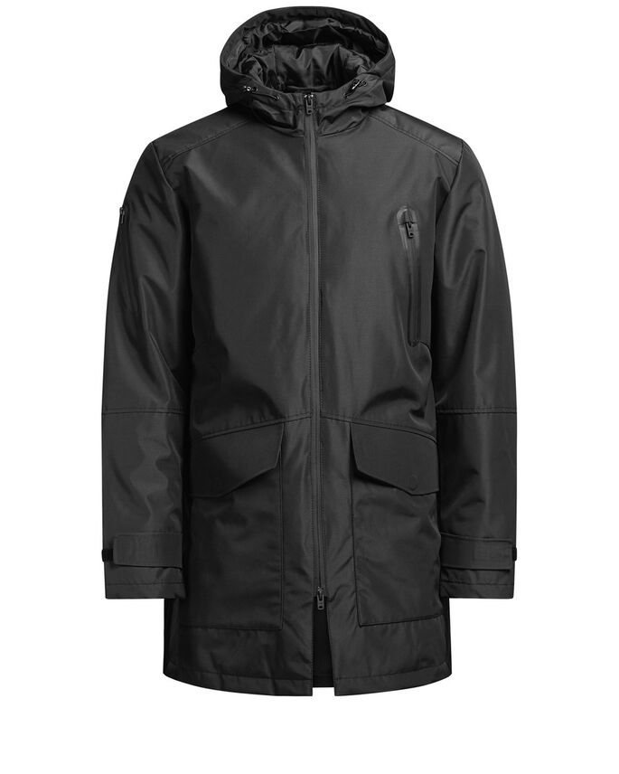 IMPERMEABLE CHAQUETA, Black, large