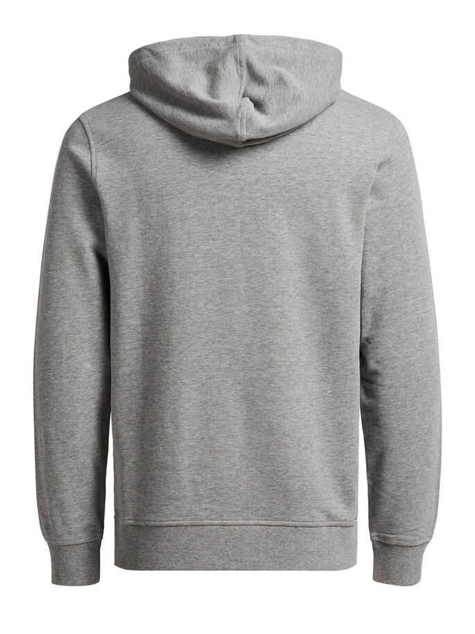 CAPUCHON HOODIE, Light Grey Melange, large
