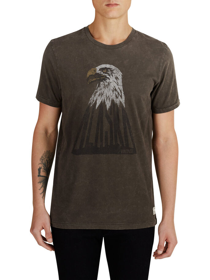 ARTWORK- T-SHIRT, Black Olive, large