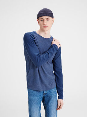 LIGHT KNITTED PULLOVER