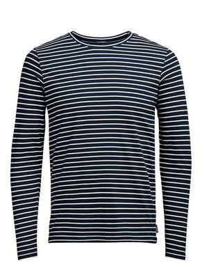 STRIPED LONG-SLEEVED T-SHIRT
