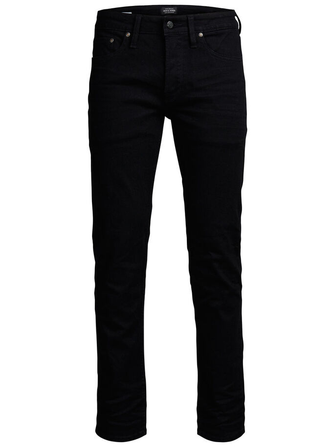 MIKE SC 002 COMFORT FIT JEANS, Black Denim, large