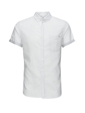 TEXTURED SHORT SLEEVED SHIRT