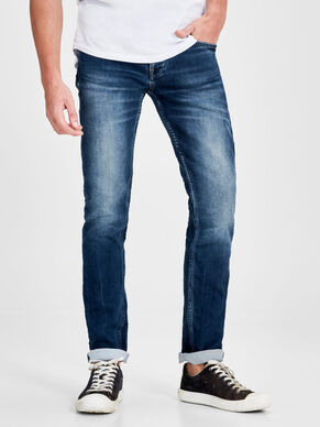 TIM LEON INDIGO KNIT SLIM FIT JEANS