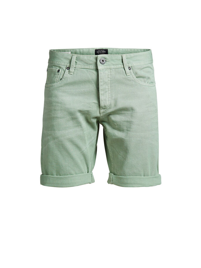 RICK ORIGINAL AKM 198 DENIM SHORTS, Granite Green, large