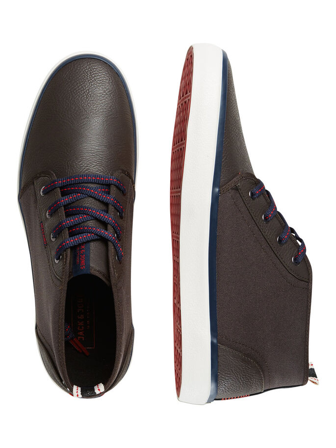 MID CUT SNEAKER, Java, large