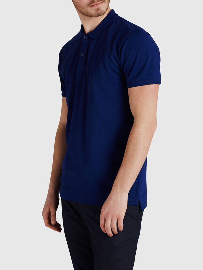 KLASSIEK POLOSHIRT, Blue Depths, large