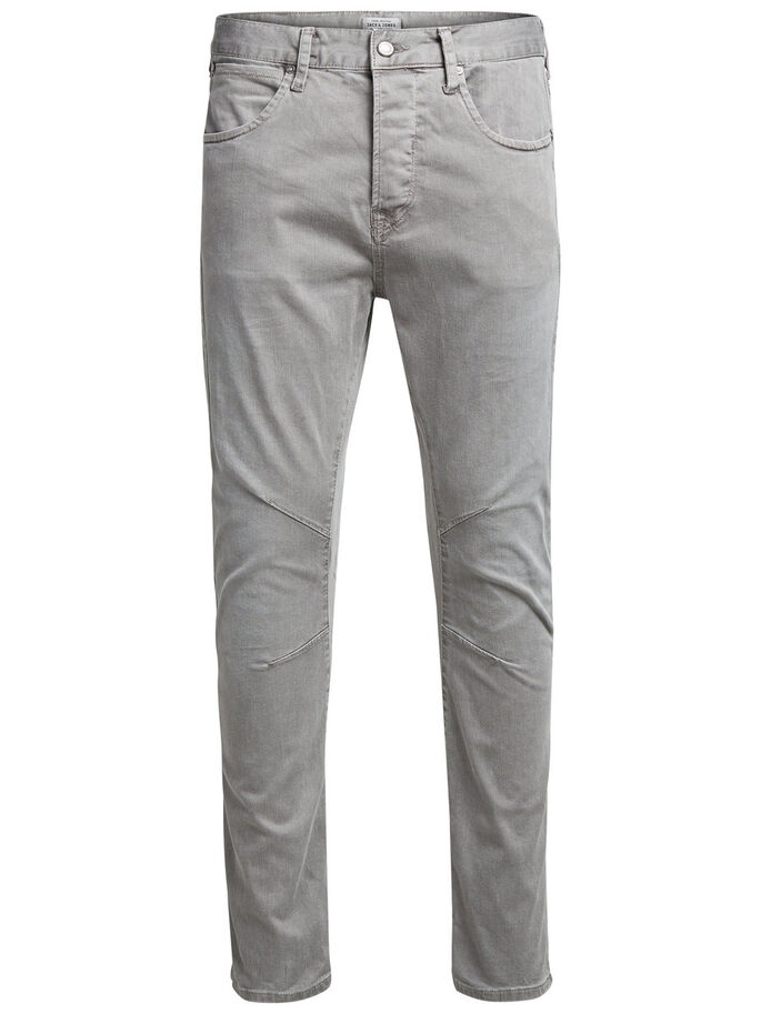 LUKE JOS 999 TROUSERS, Charcoal Gray, large