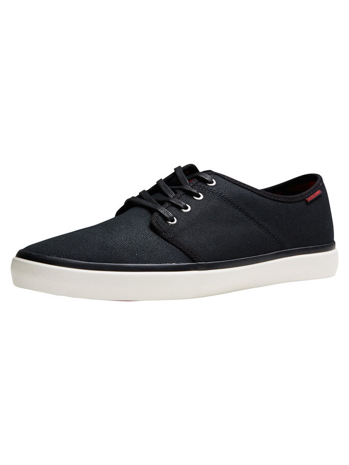 TELA CERATA SNEAKERS, Anthracite, large