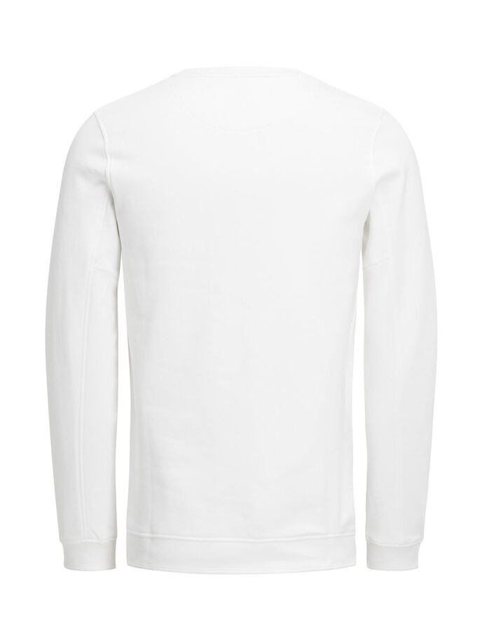 GRAPHIC SWEATSHIRT, Blanc de Blanc, large