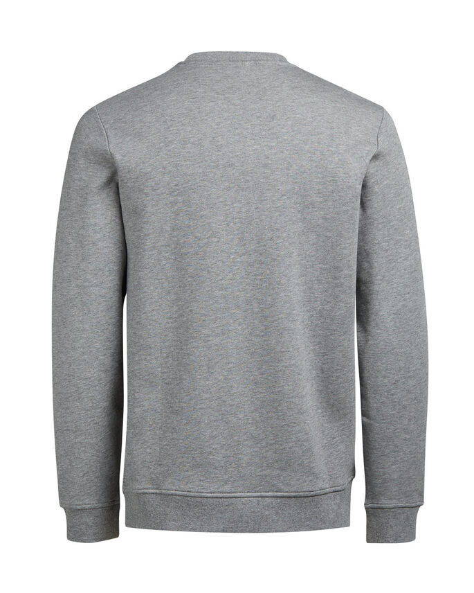 KERST SWEATSHIRT, Light Grey Melange, large